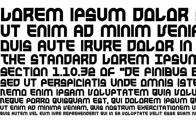 specimens Trek Trooper Bold font, sample Trek Trooper Bold font, an example of writing Trek Trooper Bold font, review Trek Trooper Bold font, preview Trek Trooper Bold font, Trek Trooper Bold font