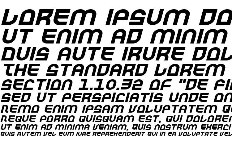 specimens Trek Trooper Expanded Italic font, sample Trek Trooper Expanded Italic font, an example of writing Trek Trooper Expanded Italic font, review Trek Trooper Expanded Italic font, preview Trek Trooper Expanded Italic font, Trek Trooper Expanded Italic font