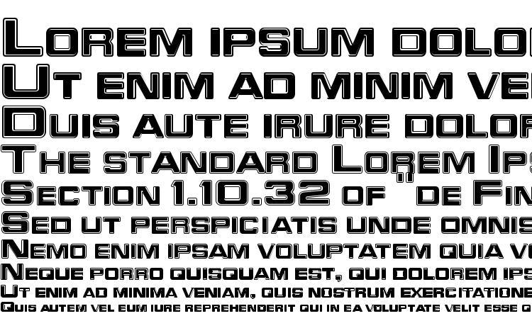 specimens Trekker 3 Regular font, sample Trekker 3 Regular font, an example of writing Trekker 3 Regular font, review Trekker 3 Regular font, preview Trekker 3 Regular font, Trekker 3 Regular font