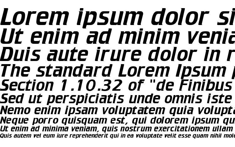 specimens Trekker Regular font, sample Trekker Regular font, an example of writing Trekker Regular font, review Trekker Regular font, preview Trekker Regular font, Trekker Regular font