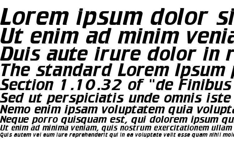 specimens Trekker font, sample Trekker font, an example of writing Trekker font, review Trekker font, preview Trekker font, Trekker font
