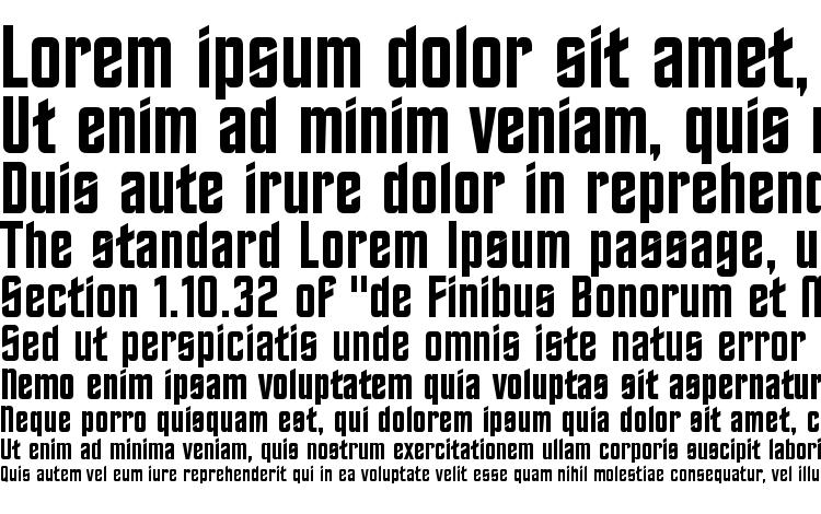 specimens TrekkerFrontier Regular font, sample TrekkerFrontier Regular font, an example of writing TrekkerFrontier Regular font, review TrekkerFrontier Regular font, preview TrekkerFrontier Regular font, TrekkerFrontier Regular font