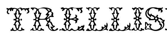 Trellisdisplaycapsssk Font