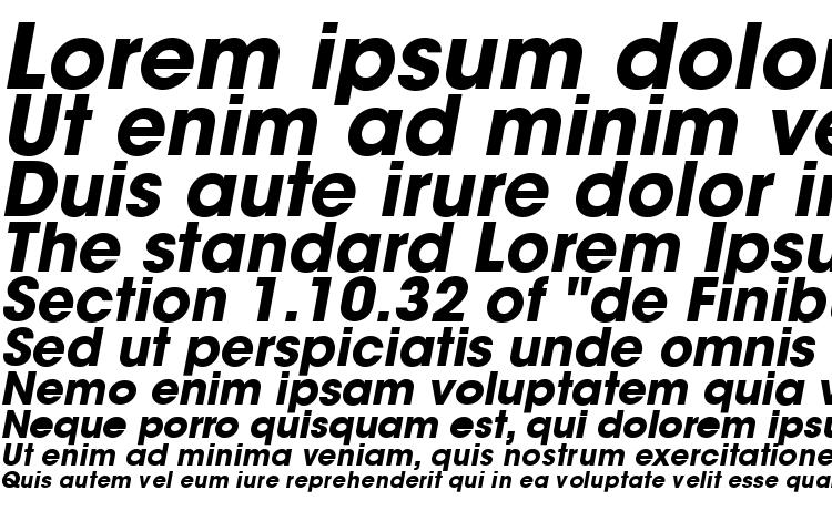 specimens Trendex Black SSi Bold Italic font, sample Trendex Black SSi Bold Italic font, an example of writing Trendex Black SSi Bold Italic font, review Trendex Black SSi Bold Italic font, preview Trendex Black SSi Bold Italic font, Trendex Black SSi Bold Italic font