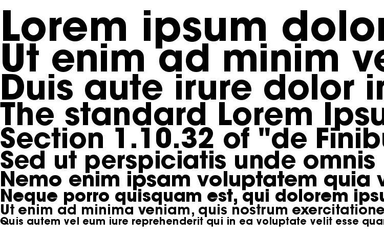 specimens Trendex Black SSi Bold font, sample Trendex Black SSi Bold font, an example of writing Trendex Black SSi Bold font, review Trendex Black SSi Bold font, preview Trendex Black SSi Bold font, Trendex Black SSi Bold font