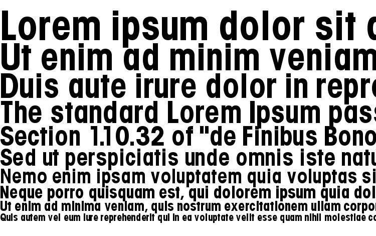 specimens Trendexcondssk bold font, sample Trendexcondssk bold font, an example of writing Trendexcondssk bold font, review Trendexcondssk bold font, preview Trendexcondssk bold font, Trendexcondssk bold font