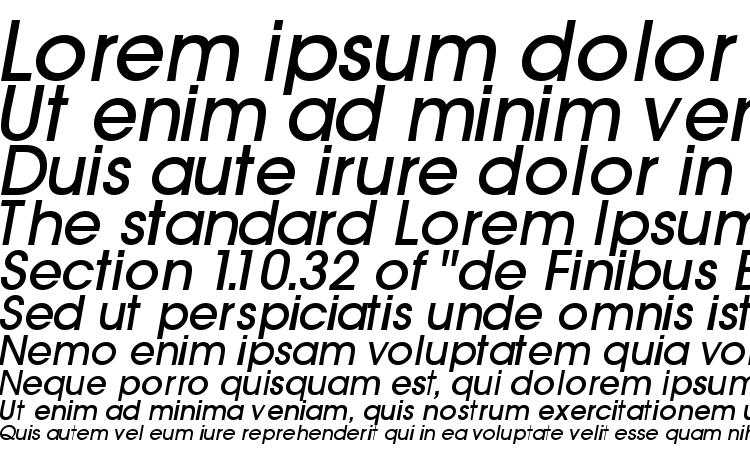 specimens Trendexlightssk bolditalic font, sample Trendexlightssk bolditalic font, an example of writing Trendexlightssk bolditalic font, review Trendexlightssk bolditalic font, preview Trendexlightssk bolditalic font, Trendexlightssk bolditalic font