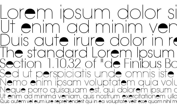 specimens Trendexlightssk regular font, sample Trendexlightssk regular font, an example of writing Trendexlightssk regular font, review Trendexlightssk regular font, preview Trendexlightssk regular font, Trendexlightssk regular font