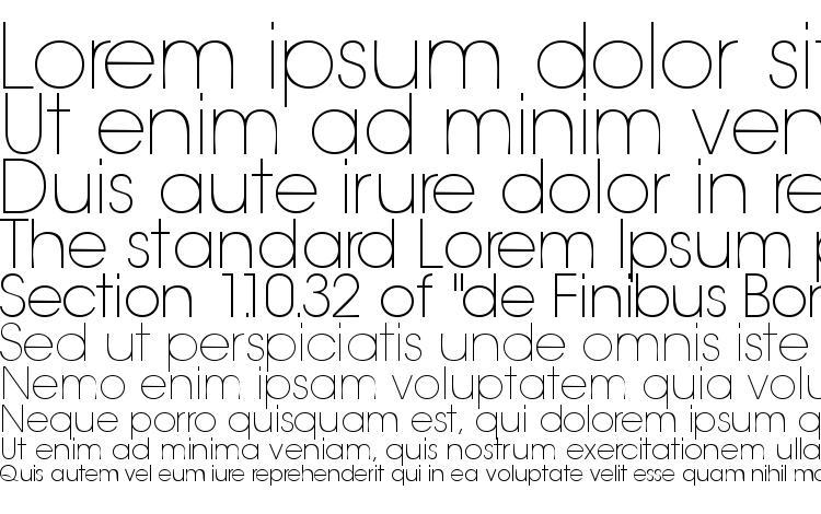 specimens Trendexlightssk font, sample Trendexlightssk font, an example of writing Trendexlightssk font, review Trendexlightssk font, preview Trendexlightssk font, Trendexlightssk font