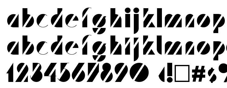 глифы шрифта Trf, символы шрифта Trf, символьная карта шрифта Trf, предварительный просмотр шрифта Trf, алфавит шрифта Trf, шрифт Trf