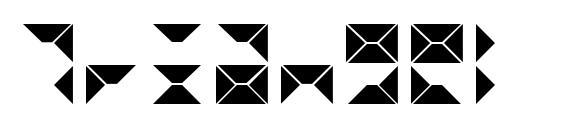 Triangel font, free Triangel font, preview Triangel font