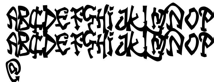 glyphs Tribal Funk font, сharacters Tribal Funk font, symbols Tribal Funk font, character map Tribal Funk font, preview Tribal Funk font, abc Tribal Funk font, Tribal Funk font