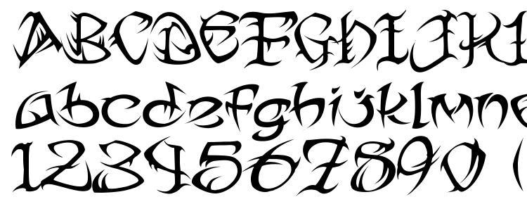 глифы шрифта Tribal Two, символы шрифта Tribal Two, символьная карта шрифта Tribal Two, предварительный просмотр шрифта Tribal Two, алфавит шрифта Tribal Two, шрифт Tribal Two