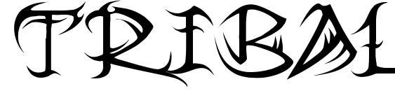Шрифт Tribal