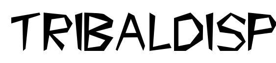 Tribaldisplaycapsssk Font