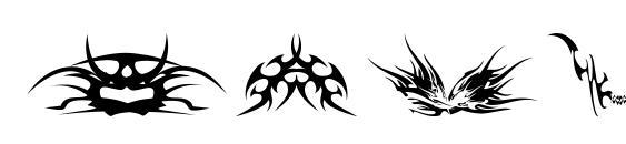 tribalz by marioz font, free tribalz by marioz font, preview tribalz by marioz font