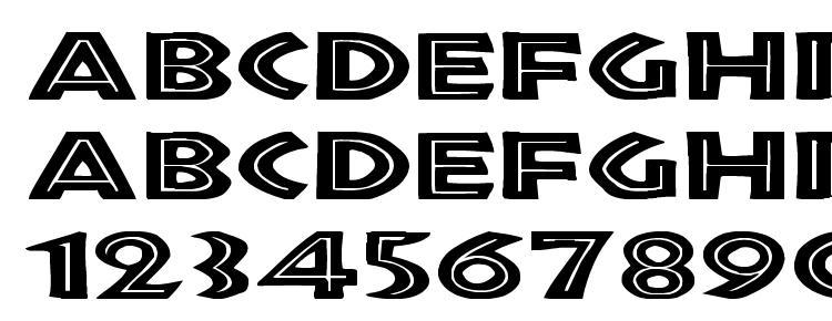 glyphs Tribeca Ex font, сharacters Tribeca Ex font, symbols Tribeca Ex font, character map Tribeca Ex font, preview Tribeca Ex font, abc Tribeca Ex font, Tribeca Ex font