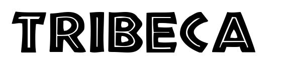 шрифт Tribeca Medium, бесплатный шрифт Tribeca Medium, предварительный просмотр шрифта Tribeca Medium