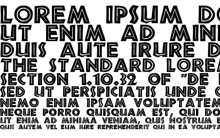 specimens Tribeca Regular font, sample Tribeca Regular font, an example of writing Tribeca Regular font, review Tribeca Regular font, preview Tribeca Regular font, Tribeca Regular font