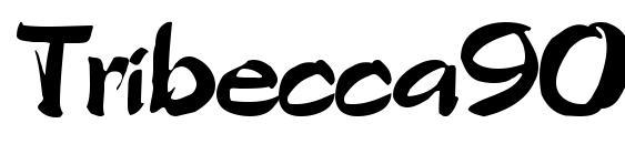Tribecca90 regular font, free Tribecca90 regular font, preview Tribecca90 regular font