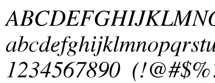 глифы шрифта Tribune Italic, символы шрифта Tribune Italic, символьная карта шрифта Tribune Italic, предварительный просмотр шрифта Tribune Italic, алфавит шрифта Tribune Italic, шрифт Tribune Italic