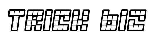Шрифт Trick b12