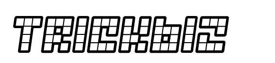 шрифт Trickb12, бесплатный шрифт Trickb12, предварительный просмотр шрифта Trickb12