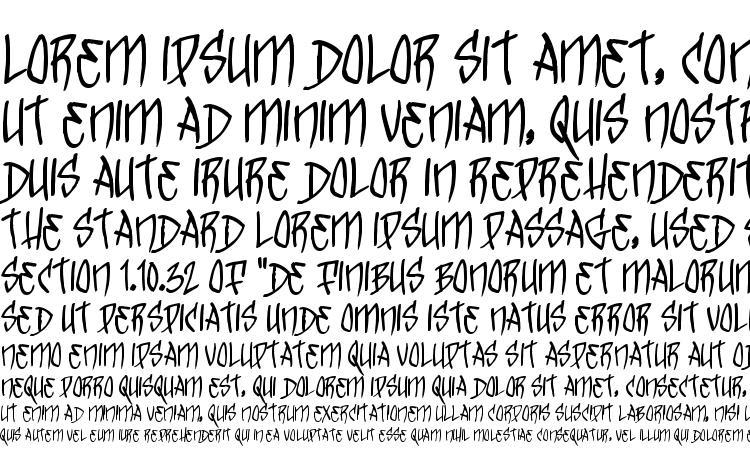 образцы шрифта TrickTag, образец шрифта TrickTag, пример написания шрифта TrickTag, просмотр шрифта TrickTag, предосмотр шрифта TrickTag, шрифт TrickTag