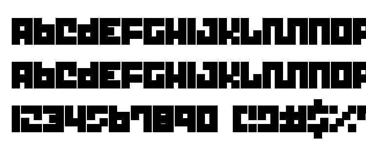 глифы шрифта Trict, символы шрифта Trict, символьная карта шрифта Trict, предварительный просмотр шрифта Trict, алфавит шрифта Trict, шрифт Trict