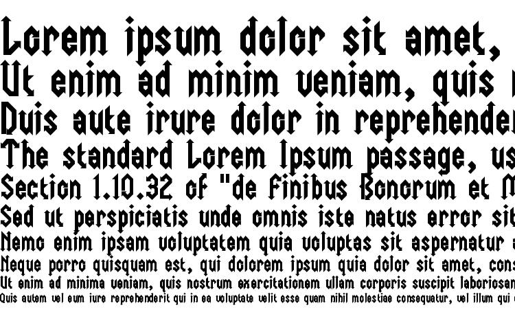 образцы шрифта Trident, образец шрифта Trident, пример написания шрифта Trident, просмотр шрифта Trident, предосмотр шрифта Trident, шрифт Trident