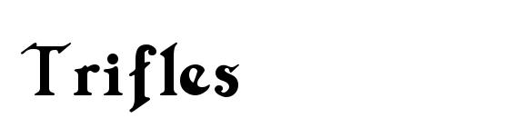 Шрифт Trifles