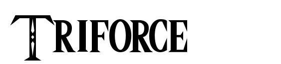 шрифт Triforce, бесплатный шрифт Triforce, предварительный просмотр шрифта Triforce