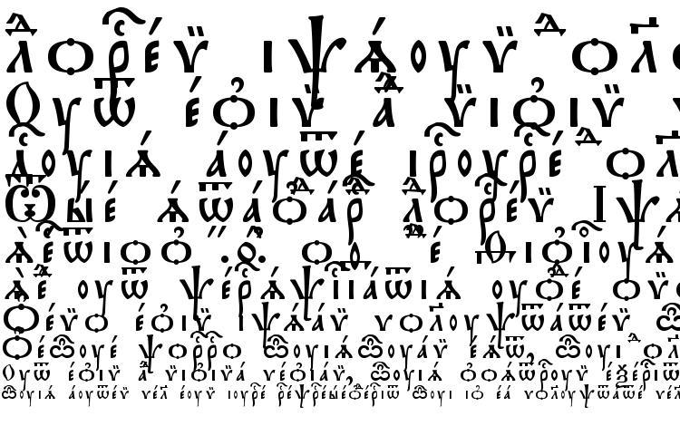 образцы шрифта Triodion Ucs SpacedOut, образец шрифта Triodion Ucs SpacedOut, пример написания шрифта Triodion Ucs SpacedOut, просмотр шрифта Triodion Ucs SpacedOut, предосмотр шрифта Triodion Ucs SpacedOut, шрифт Triodion Ucs SpacedOut