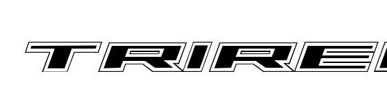 Шрифт Trireme Academy Italic