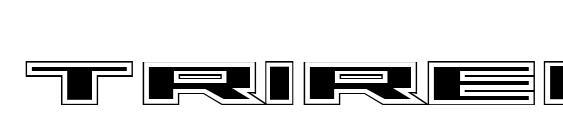 Шрифт Trireme Academy
