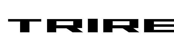 шрифт Trireme Bold, бесплатный шрифт Trireme Bold, предварительный просмотр шрифта Trireme Bold