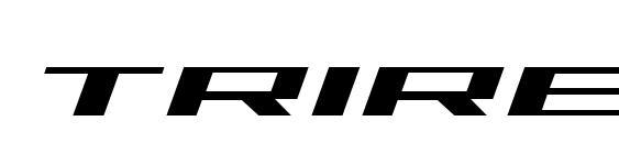 шрифт Trireme Italic, бесплатный шрифт Trireme Italic, предварительный просмотр шрифта Trireme Italic