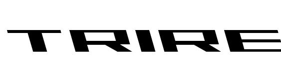 Шрифт Trireme Leftalic