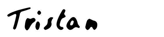 Шрифт Tristan