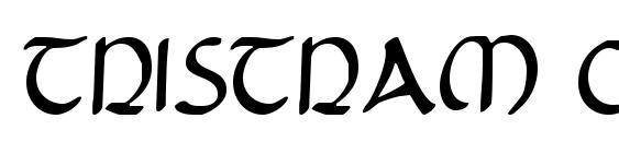 Шрифт Tristram Condensed