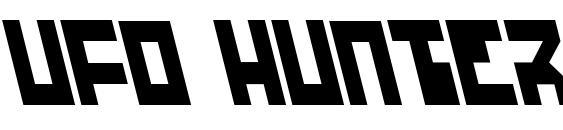UFO Hunter Leftalic Font