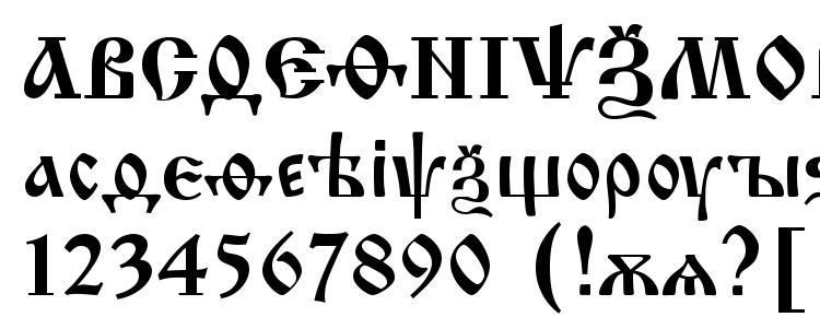 Шрифт izhitsa cyrillic скачать бесплатно / legionfonts.