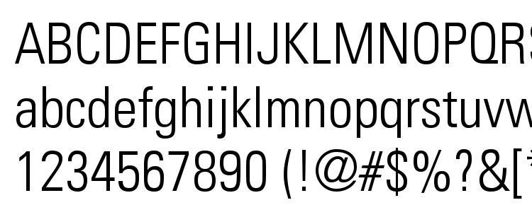Download DINCond-Regular Font, free -