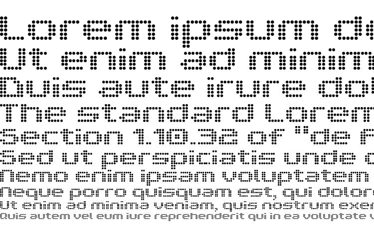 specimens V5 prophit dot font, sample V5 prophit dot font, an example of writing V5 prophit dot font, review V5 prophit dot font, preview V5 prophit dot font, V5 prophit dot font