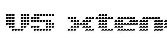 V5 xtender loinback Font