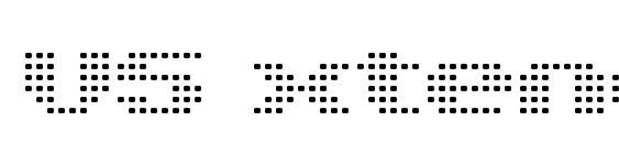 V5 xtender loinfront Font