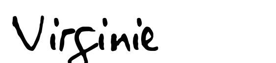 Virginie Font, Handwriting Fonts