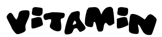 Vitamin Font, Sans Serif Fonts
