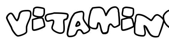 Vitamino Font, Sans Serif Fonts
