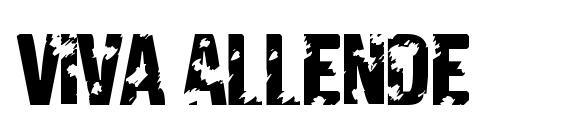 Viva Allende Font, Christmas Fonts